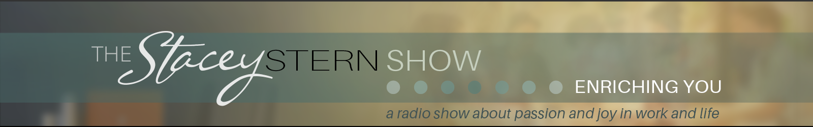 Stacey Stern Consulting Radio Show page header graphic image